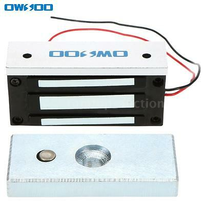 Owsoo Door Electric Magnetic Lock 60kg 132lbs Holding Force Access Control G0x8