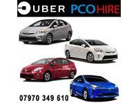 PCO Uber Taxi Mini Cab Toyota Prius Auris Car Hire & Rentals *** Cheap Rent*** From £99 per Week