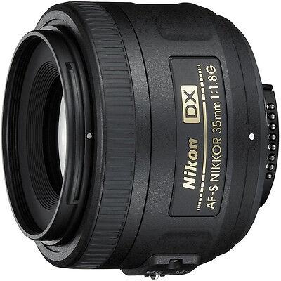 Nikon AF-S DX 35mm F/1.8G Lens - Factory Refurbished