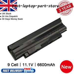 New 9 Cell Battery J1KND for Dell Vostro 3450 3550 3555 3750 1440 1450 1540 1550