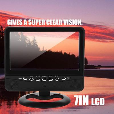 Portable 7 Inch Digital LCD Display Analog TV FM Slot Auto Car Reader Mobile TV