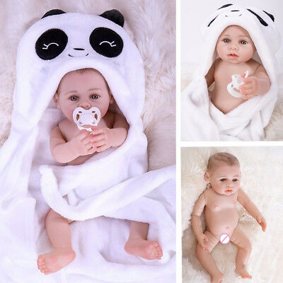"Usado, 17"" Newborn Bebe Reborn Baby Doll Full Body Soft Silicone Real Lifelike comprar usado  Enviando para Brazil"