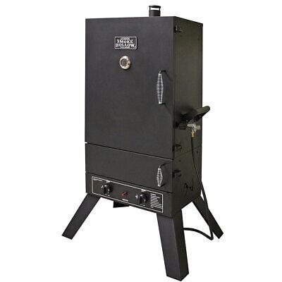 Masterbuilt 44241G2 Smoke Hollow 44-Inch Dual Burner Stainless Steel Gas Smoker Burners Gas Smoker