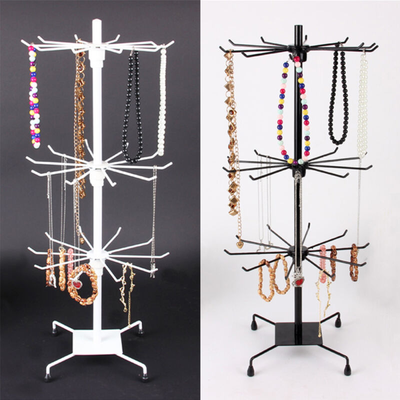 Jewelry Display Keyring Display Rotating Iron 40Tier Revolving Stand Awesome Revolving Jewelry Display Stand