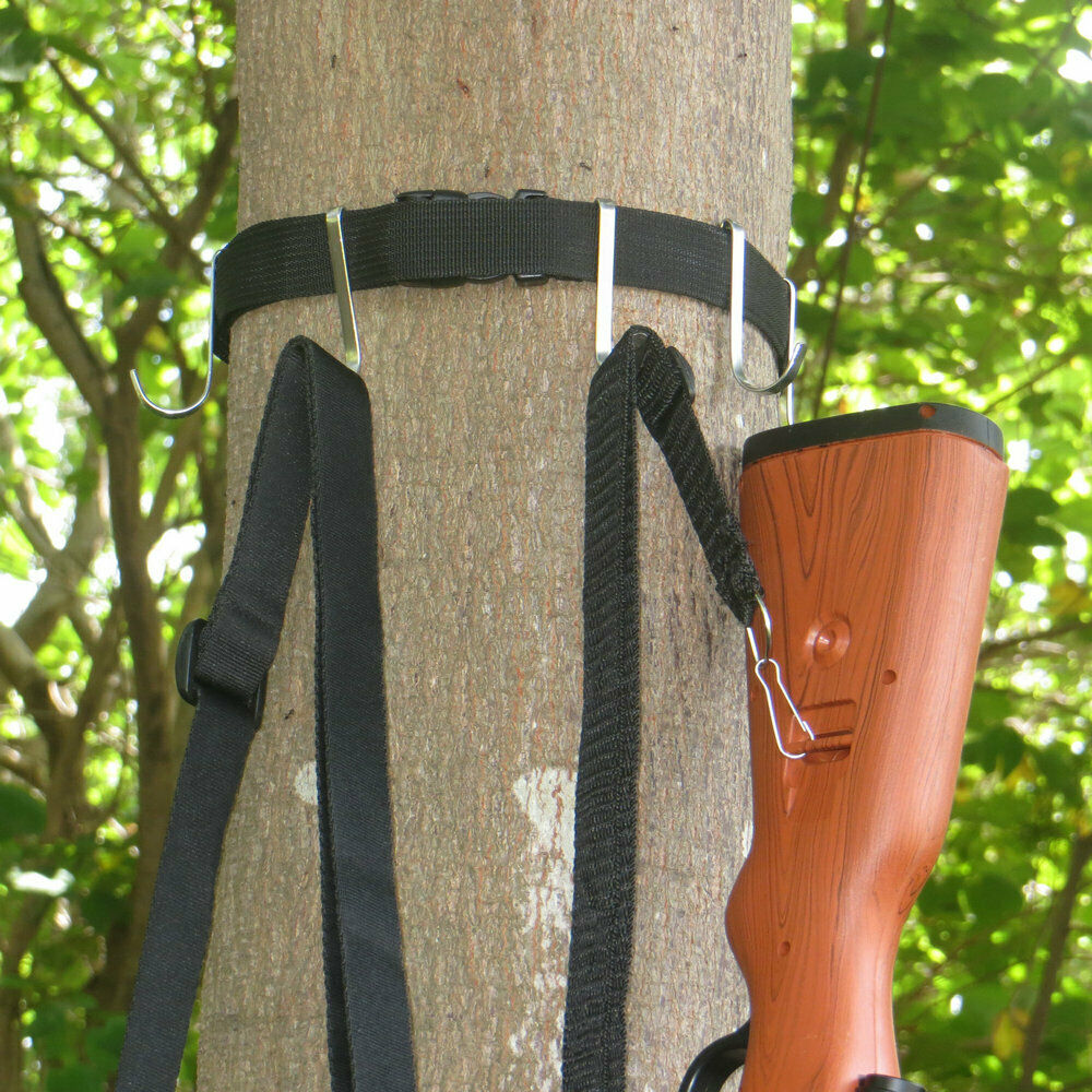 Treestands Multi-Hook Accessory Holder,Equipment Hange,Tree