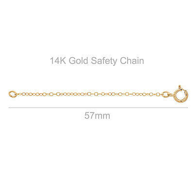 14KT Yellow Gold Safety Chain Extender