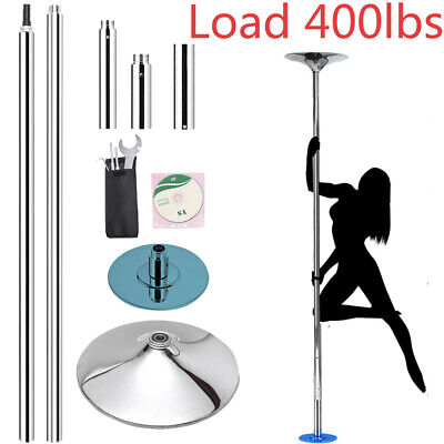 Removable Dancing Pole Spinning Static Dance Pole for Club Fitness Pole Kit gift