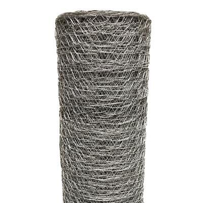 2 In X 6 Ft. X 150 Ft. Poultry Netting Chicken Wire Mesh Fence Fencing Metal