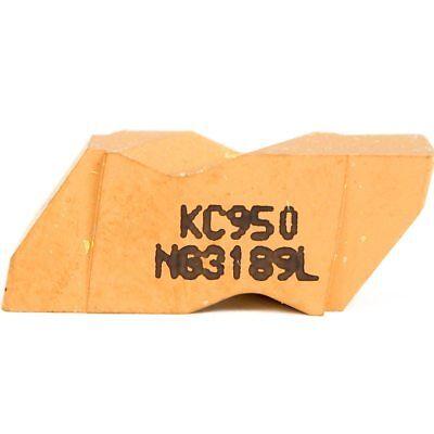 Kennametal Carbide Grooving Insert Ng3189l Kc950 1113976 - 4 Pcs