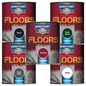 johnstone 39 s garage floor paint semi gloss 250ml or 750ml. Black Bedroom Furniture Sets. Home Design Ideas