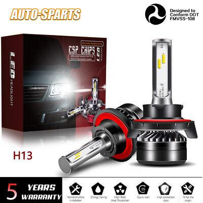 H13 9008 LED Headlight Kit White 6000K Hi/Lo Bulb for Dodge Challenger
