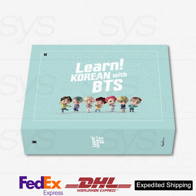 Learn! KOREAN with BTS BOOK Package + Express Shipping