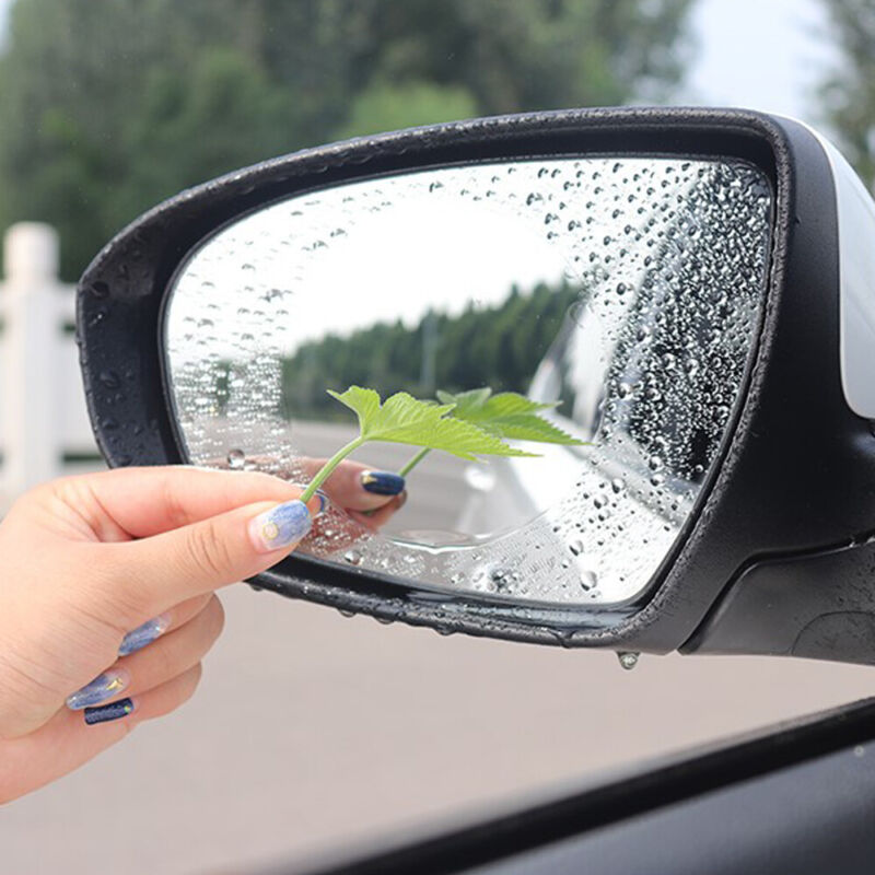 2x Car Rearview Mirror Waterproof Anti fog Anti glare Film Sticker Car Accessory