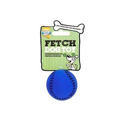 Good Boy All Sports Baseball Small Dog Toy | Ball Puppy Fetch Chew Bouncy Pet