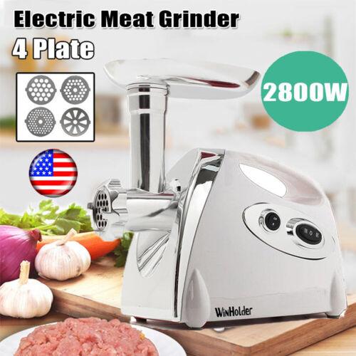 2800W Durable Electric Meat Grinder Industrial Stuffer Maker