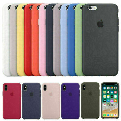 Genuine Original Hard Silicone Case Cover FOR Apple iPhone 11 7 8 X/XS Max XR