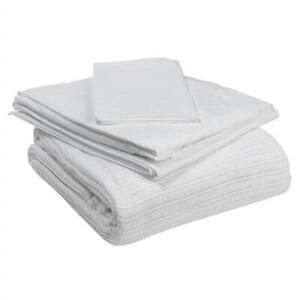 NEW Drive Medical 15030HBC Hospital Bed Bedding in A Box, White Condtion: New