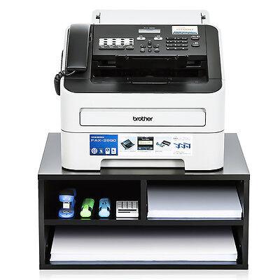 Printer Stand Desktop Organizer Wood File Drawer Office Supplies Storage Shelf