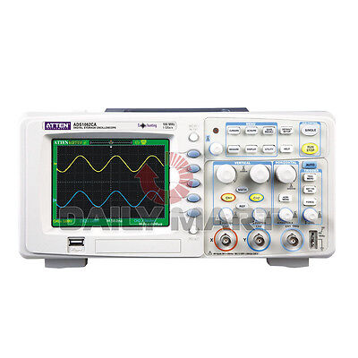 New Atten Ads1062ca Digital Oscilloscope 60mhz 1gsas 2 Ch Digital 100-240vac