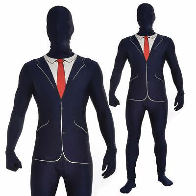 iness Anzug Erwachsene Slenderman Stil Kostüm Hallo (Hallo, Kostüme)