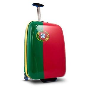 xcase Nations by Heys Hard Side Lightweight Carry On Luggage 20 Inch