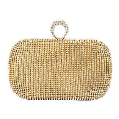 Rhinestone Evening Bag - Evening Bag Party Women Clutch Crystal Purse Wedding Rhinestone Handbags