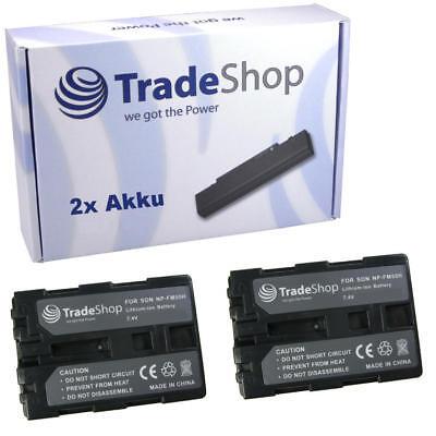 2x AKKU f Sony HDR-SR1 SR1e UX1 UX1e HVR-A1 A1E A1J A1N