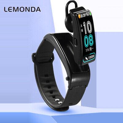 LEMONDA IY3 2 in 1 Bluetooth Earphone Headphon & Smart Wristband Bracelet Watch