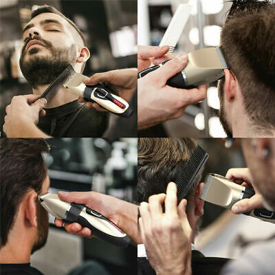 Professional Cordless Hair Clipper Electric Hair Cutter Machine Kit Rechargeable - $22.99