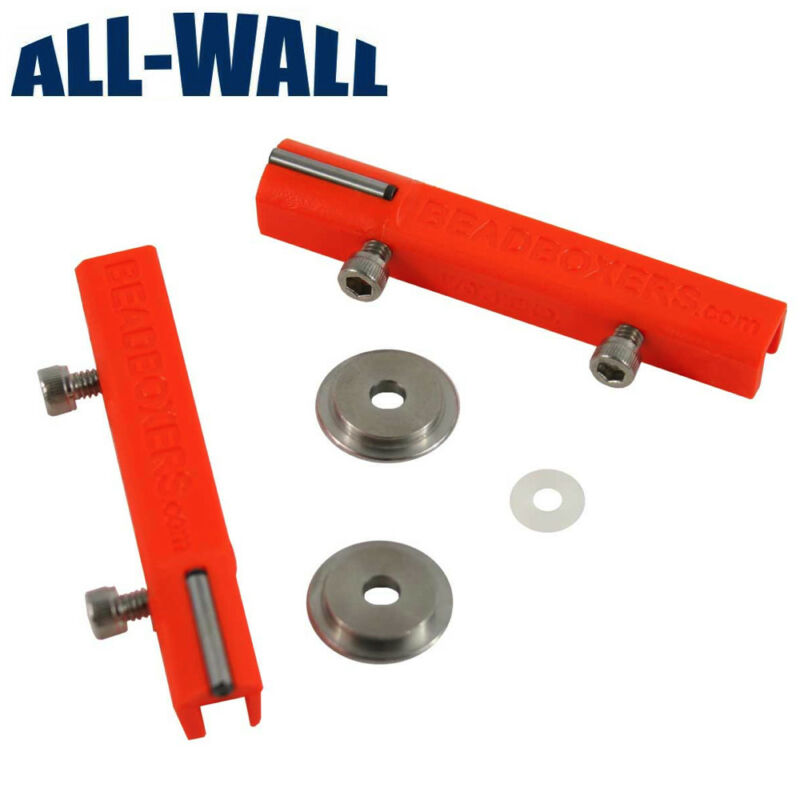 Beadboxers Drywall Flat Box Corner Finishing Conversion Wheel Kit  *NEW*