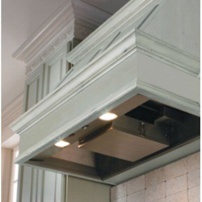 Vent-A-Hood 34.38W in. K Series Wall Mounted Liner Insert, Black