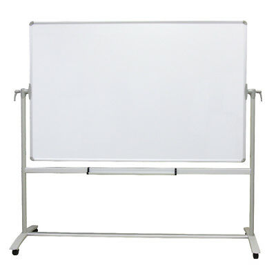 Double-sided Magnetic Mobile Whiteboard Office Whiteboard Stand Steel Stand