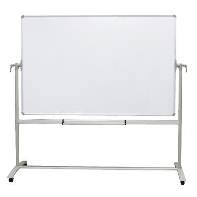 Whiteboard Stand - Double-sided Magnetic Mobile Whiteboard Office Whiteboard Stand Steel Stand