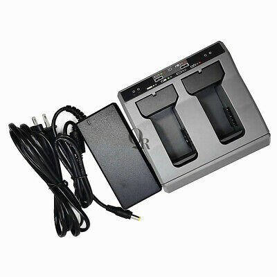 Highquality Trimble Dual Slot Two Slot Charger For Trimble Gps S8s6 R10 Battery