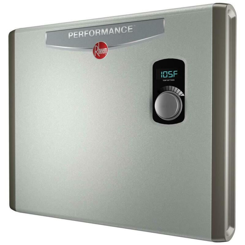 Performance 36 kw Self-Modulating 6 GPM Electric Tankless Water Heater