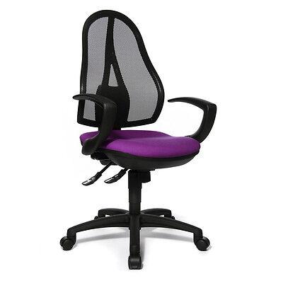 Kinder-Drehstuhl Schreibtischstuhl Topstar S´cool 3 Flowers lila purple B-Ware