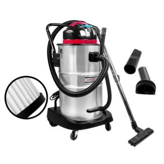 AUS FREE DEL-60L 1400W Commercial Bagless Dry Wet Vacuum Cleaner