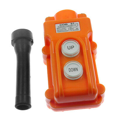 Hoist Pendant Control (Pendant Control Station Pushbutton Switch for Hoist and Crane Up-Down US)