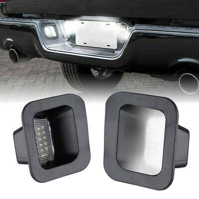 2Pcs LED License Plate Rear Bumper Lights For Dodge Ram 1500 2500 3500 03-18 USA