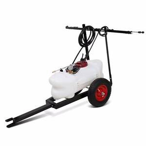 Weed Sprayer 60L Tank With Heavy Duty Trailer & Rear Boom Kings Beach Caloundra Area Preview