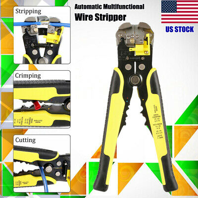 Automatic Wire Stripper Multifunctional Stripping Crimping Pliers Terminal Tool