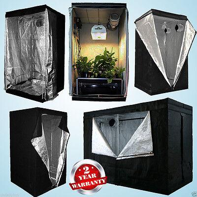 Hydropnics Grow Room Tent Greenhouse Box Bud Dark Room 0.8m 1m 1.2m  2.4m 2m UK