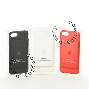 official photos 74566 44891 Details about Genuine Original Apple Smart Battery Case Cover for iPhone 7  Black/White/Red