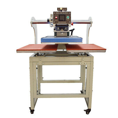 Upper Sliding Pneumatic Double Station Heat Press Machine 16 X 24