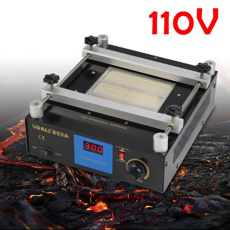 110V 853A 600W SMD PCB Preheating Rework Station BGA Preheater Oven Station NEW