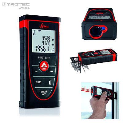 TROTEC Leica Disto D210 Entfernungsmesser Messgerät Lasermessgerät Distanzlaser
