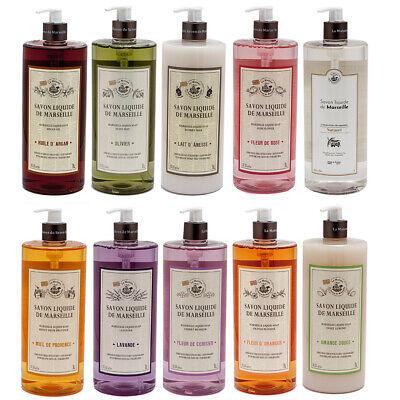 La Maison du Savon de Marseille - French Liquid Soap - Hand Wash 1 Litre Bottles