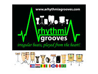 Funky groove drumming group available to perform at events & run team building/ group workshops
