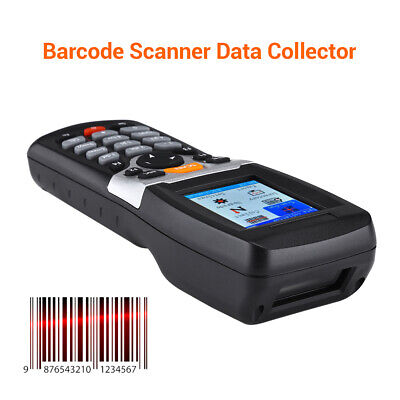 Wireless Barcode Scanner & Collector Data Terminal Inventory Device USB 1D PDT