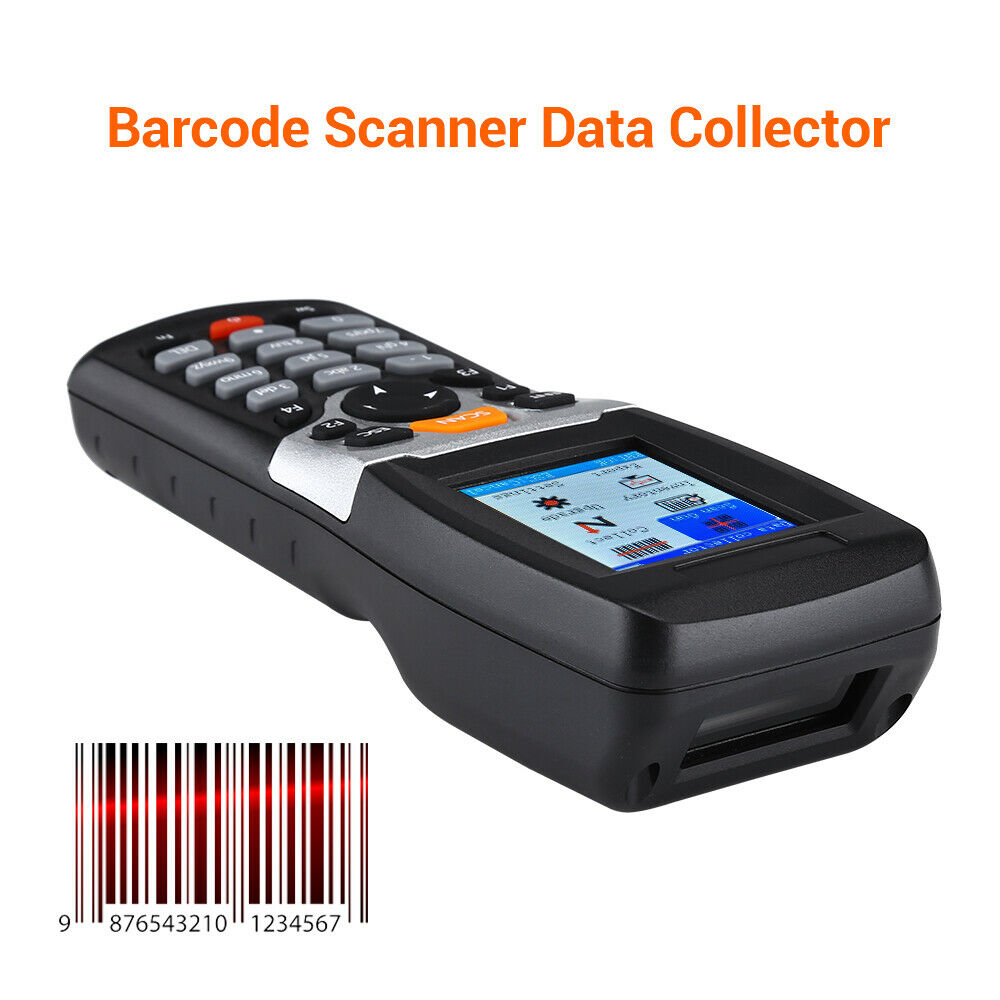 Details about Handheld Inventory Data Terminal Collector Wireless & Wired  Barcode Scanner 1D
